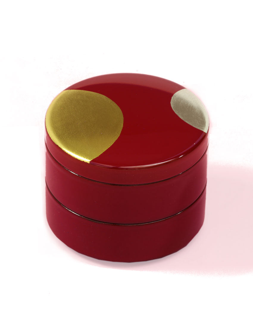Heiando Japanese Lacquer Jewelry/Accessory Box - Nichigetsu