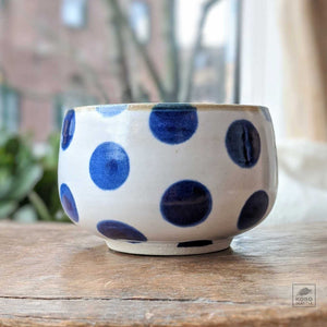 Blue Dot Bowl - 4.5 inches