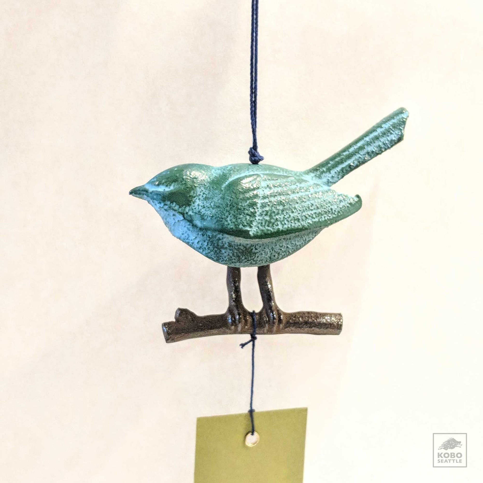 Bird on Branch Wind Chime - two colors
