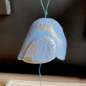 Blue Owl Wind Chime