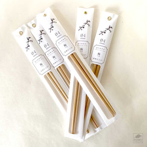 Fruit Tree Wood Chopsticks - three types of wood
