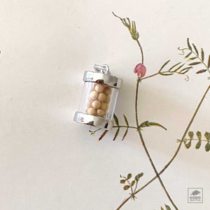 Jar of Mustard Seeds Charm
