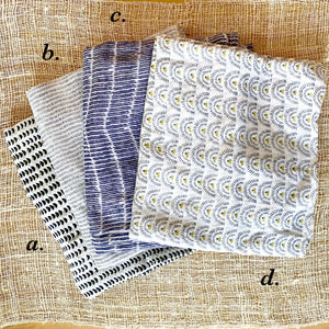 Cotton Voile Scarves, Assorted Whites