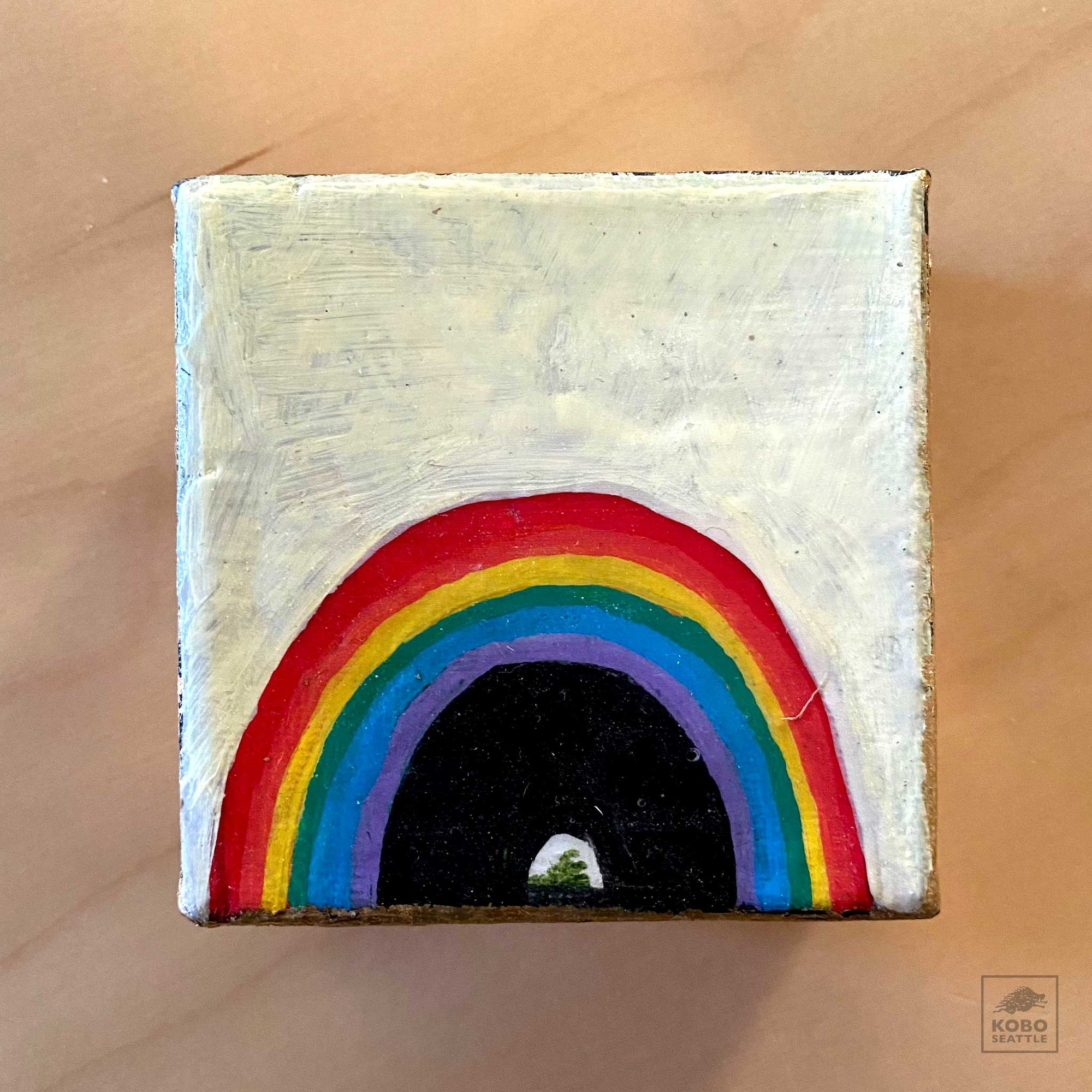 Tiny Rainbow by Kate Greiner