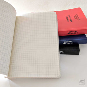 General Note Book, Size B6, four colors