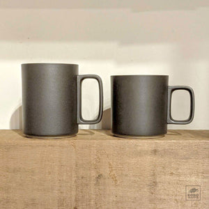 Hasami Mug / Black Matte / 2 sizes