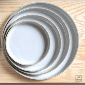 Hasami Plate / Clear gloss / 4 sizes