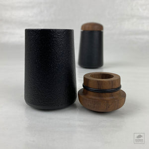 Cast Iron Salt & Pepper Shakers