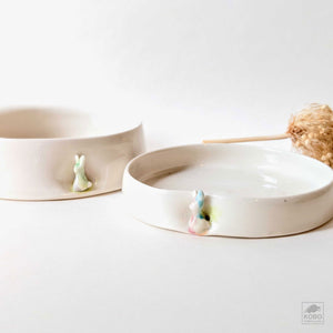Bunny Dishes - two sizes