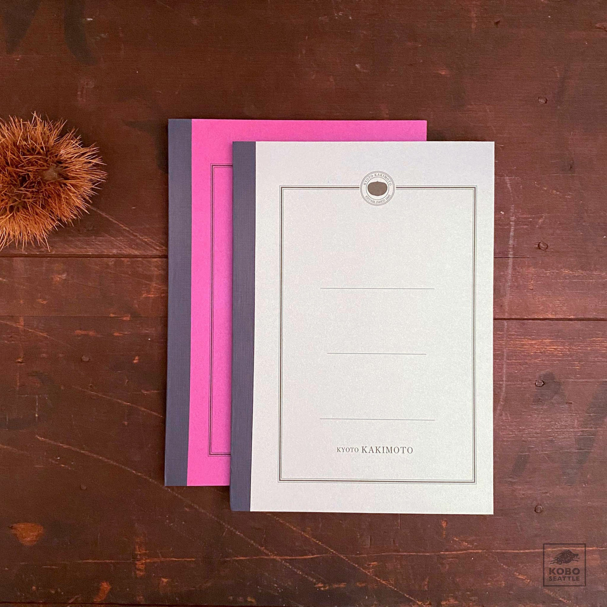 Kakimoto Notebooks - 6 x 8