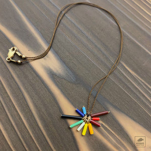 Rainbow Burst Necklace