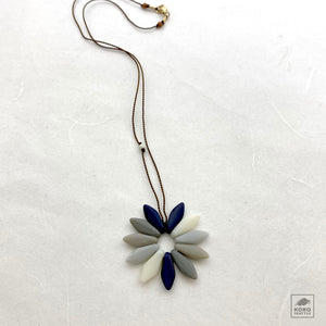 Shadow Flower Necklace