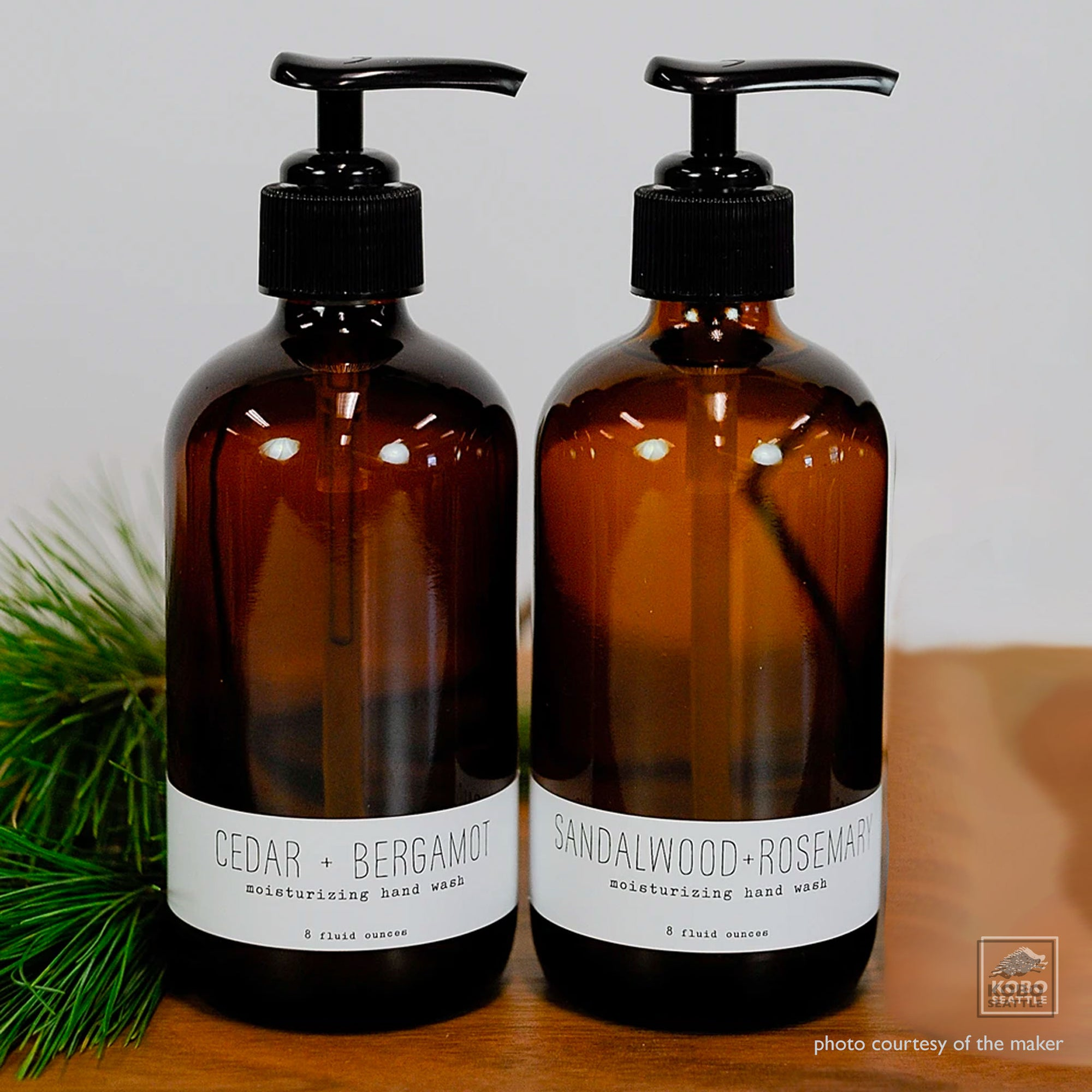 Essential Oils Hand Wash - three scents
