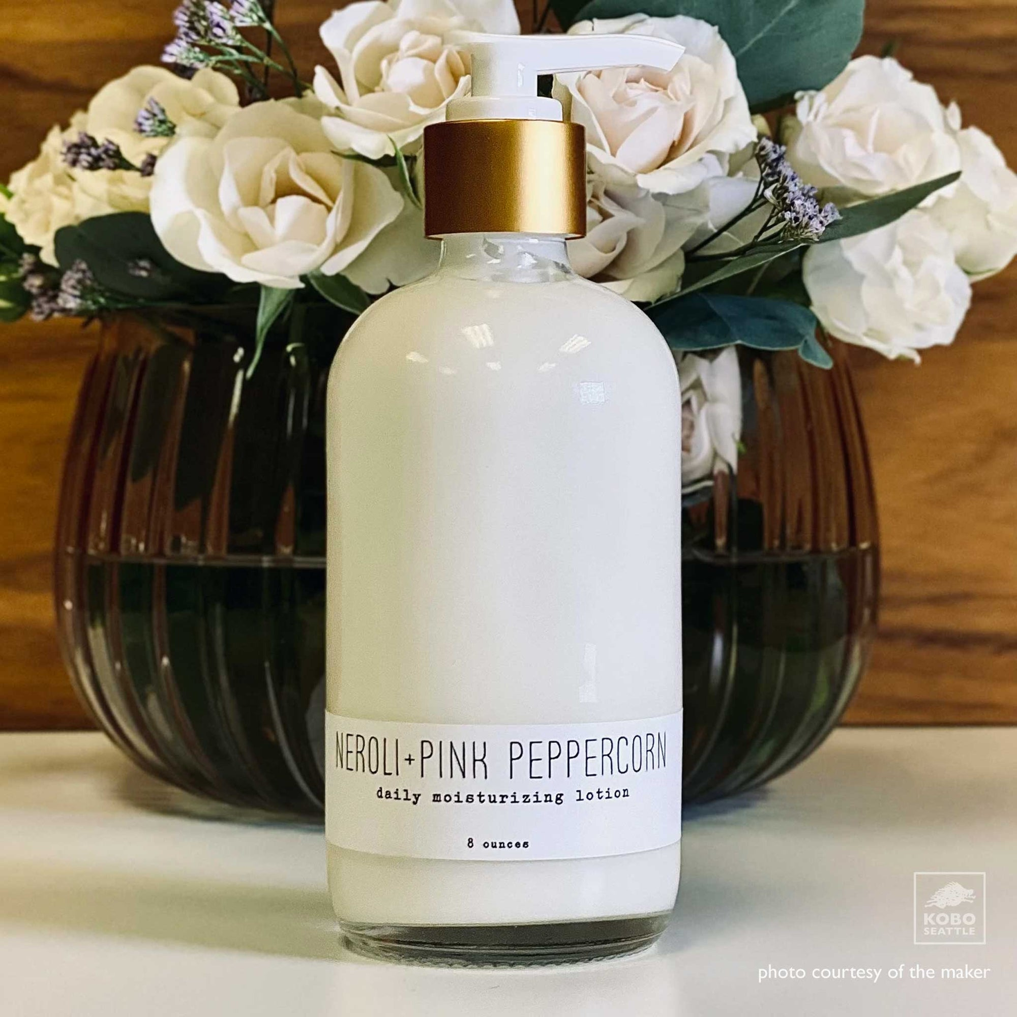 Neroli and Pink Peppercorn Moisturizing Lotion