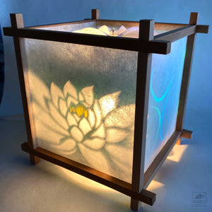 Japanese Turning Lantern - Lotus