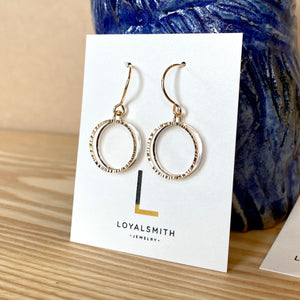 Loyalsmith Business Circles Earrings