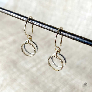 Loyalsmith Small Circles Earrings