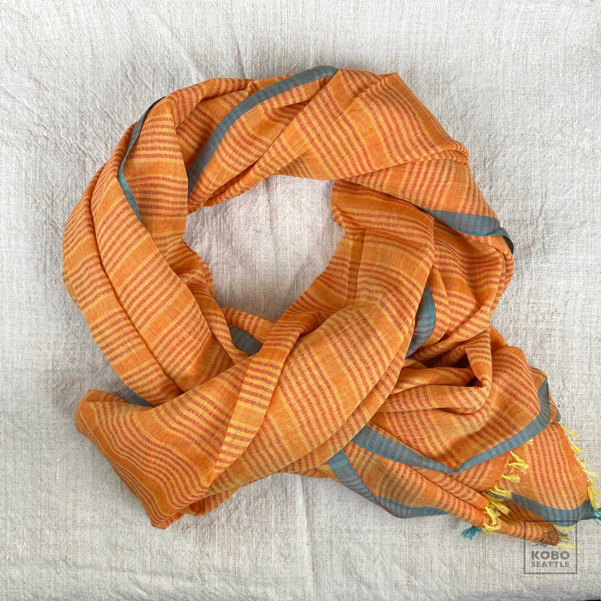 Cotton and Silk Scarf