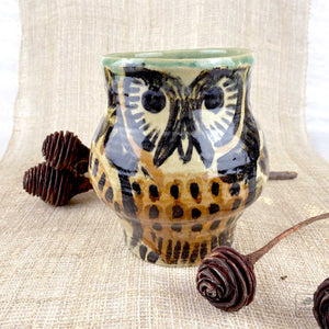 Aaron Murray Owl Vase