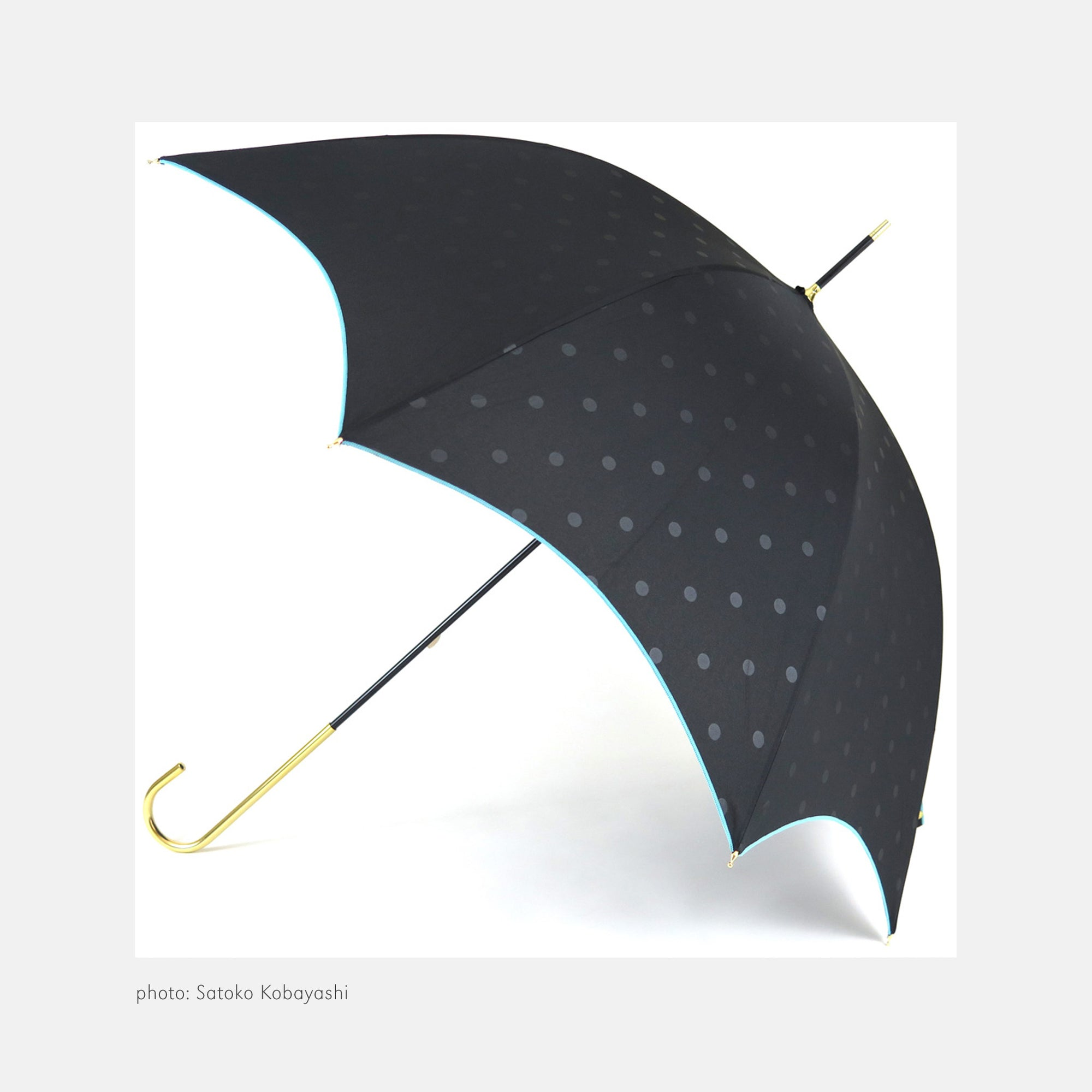 Pare Umbrella - Saskia Pink and Black