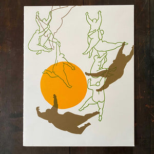 Tomoko Suzuki Art Print - Golden Sun Bodies