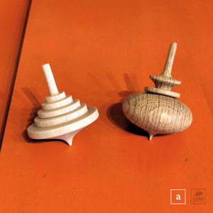 Koma/Japanese Spinning Tops - assorted sets of two