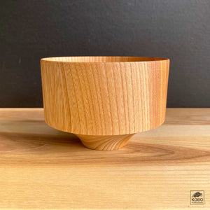 Japanese Elm Bowl - Tsubo Natural