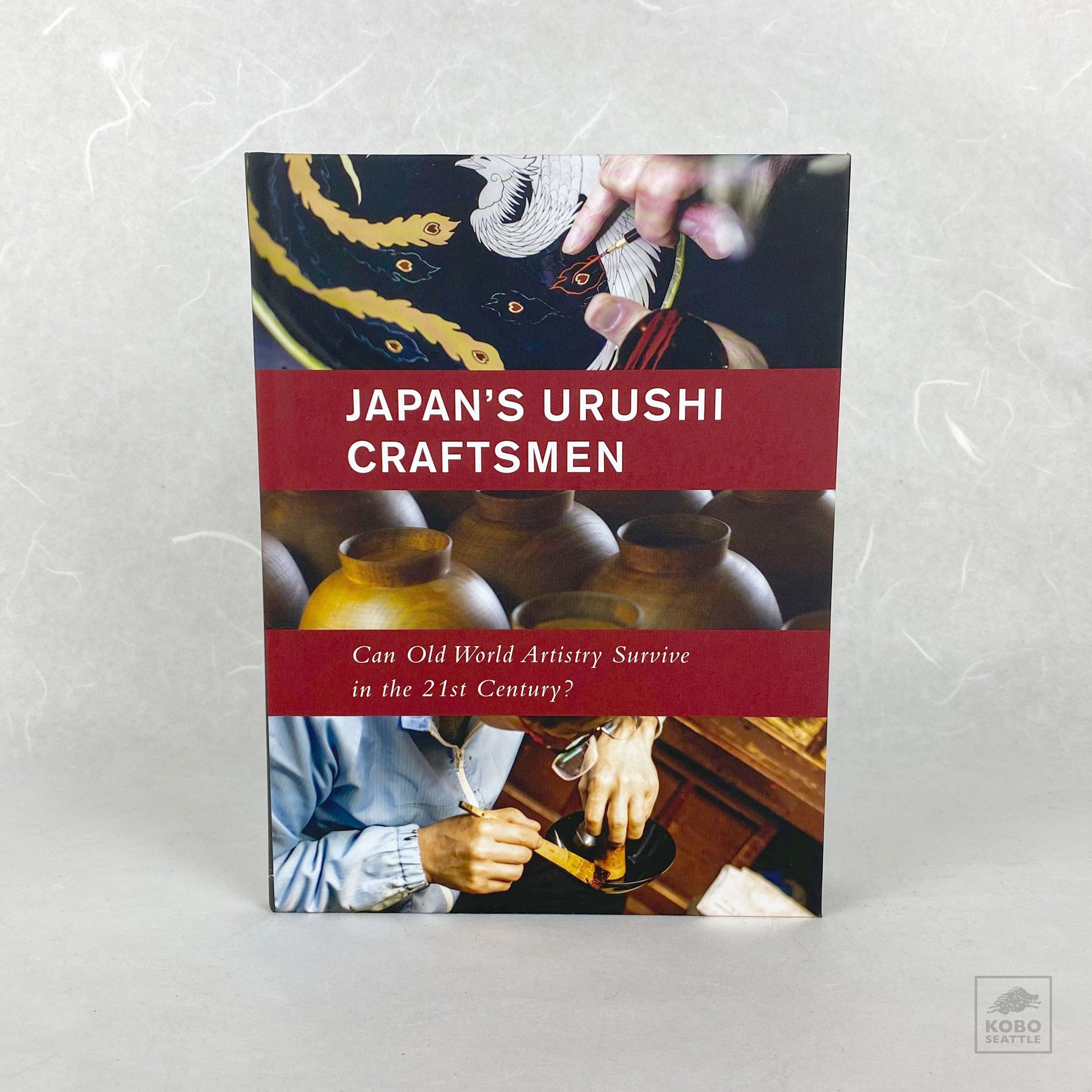 Book of Japan's Urushi Craftsmen