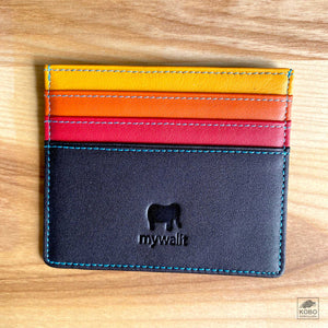 Colorful Credit Card Holder - Five Colorways