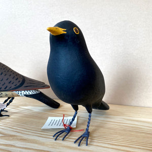Black Bird Wood Carving