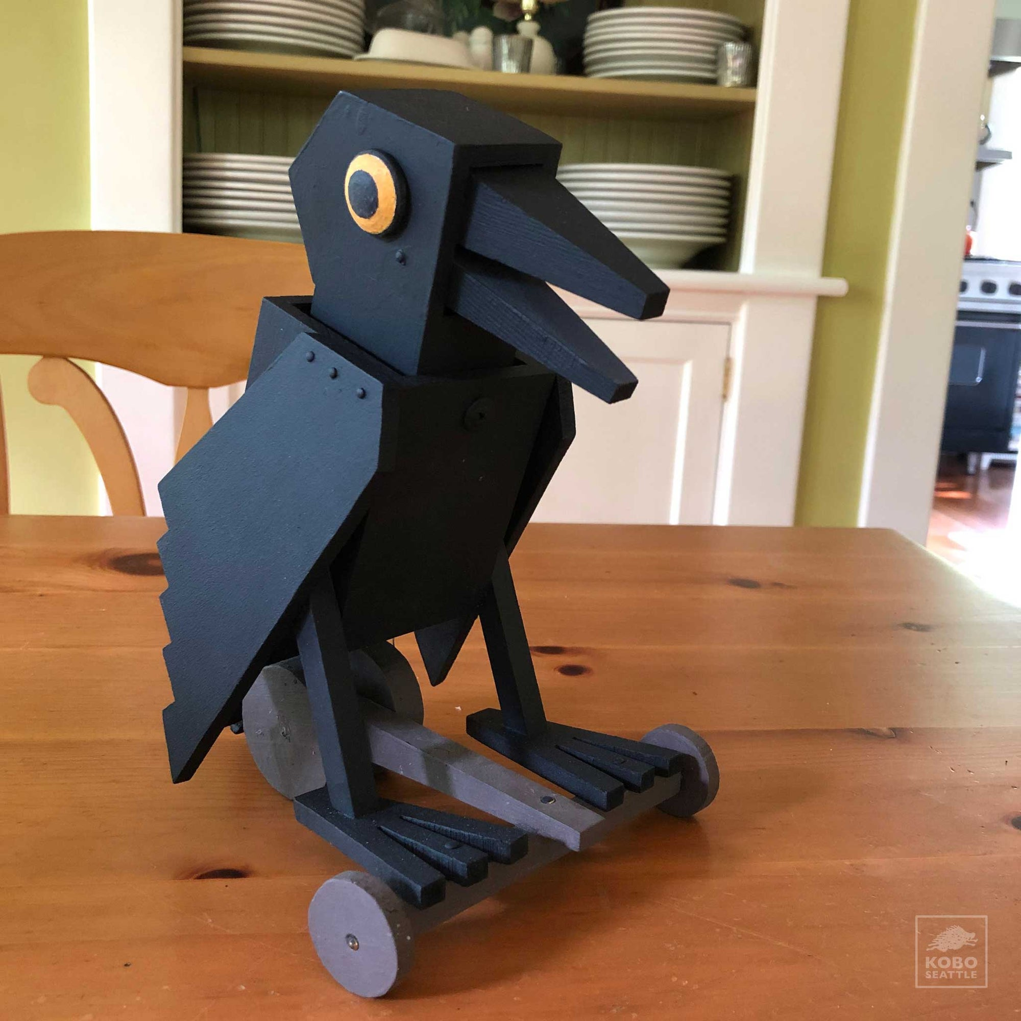 Crow Pull Toy from Michael Zitka