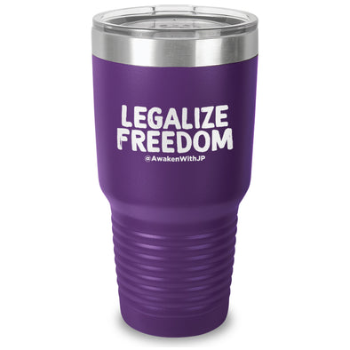 Legalize Freedom Laser Etched Drinkware