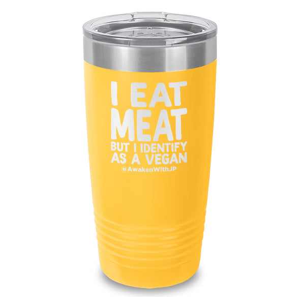 I Eat Meat Laser Etched Drinkware