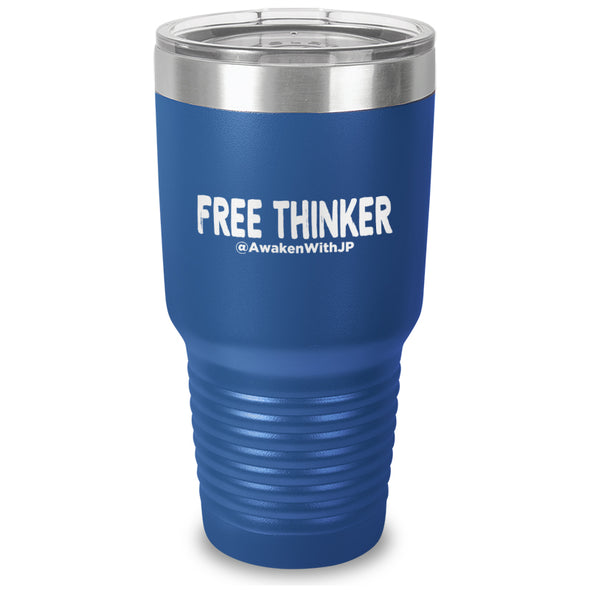 Free Thinker  Laser Etched Drinkware