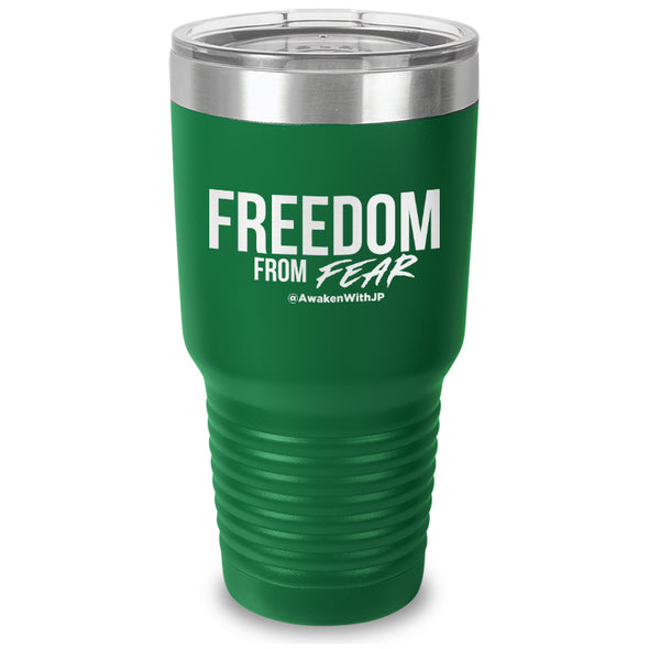 Freedom From Fear Laser Etched Tumbler