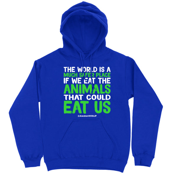 The World Is A Much Safer Place Hoodie