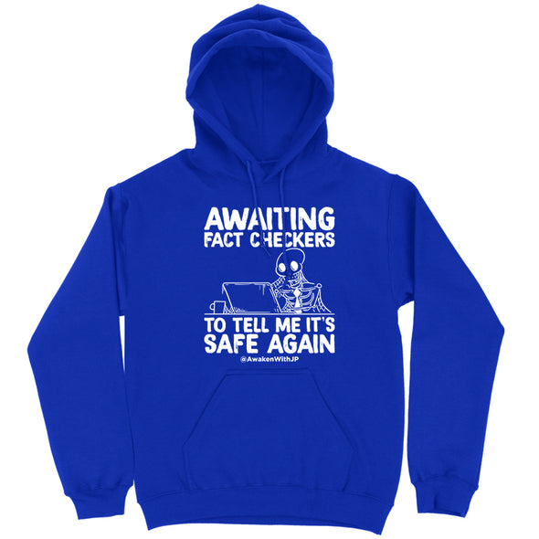 Awaiting Fact Checkers Hoodie