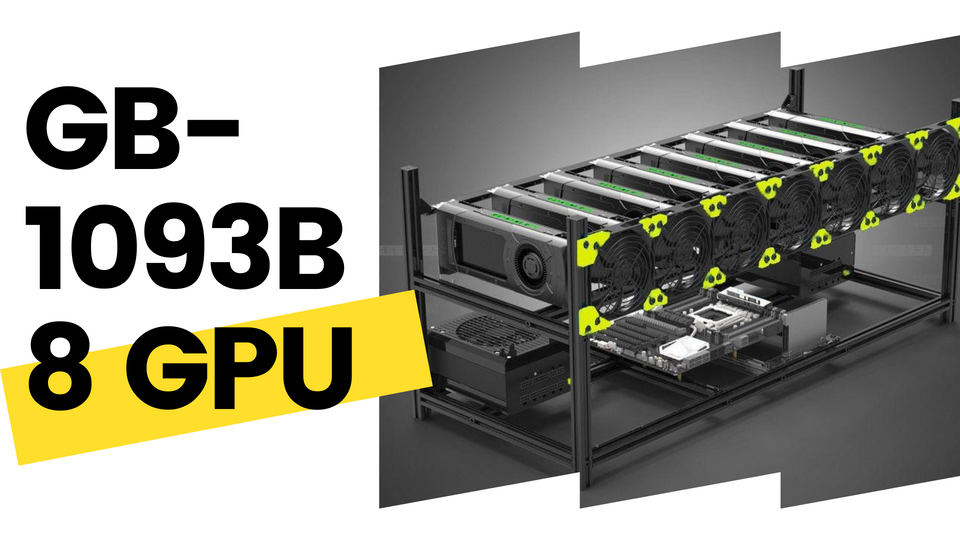 8GPU UNIT<br> Range of Cases Available