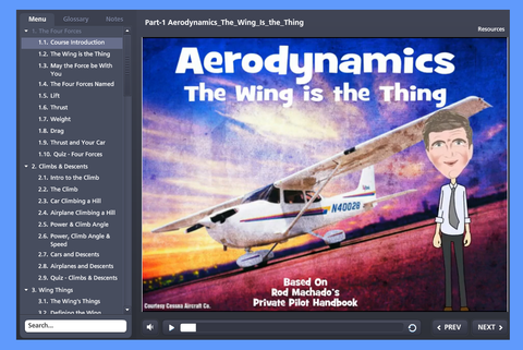 BASIC AERODYNAMICS - INTERACTIVE ELEARNING COURSE