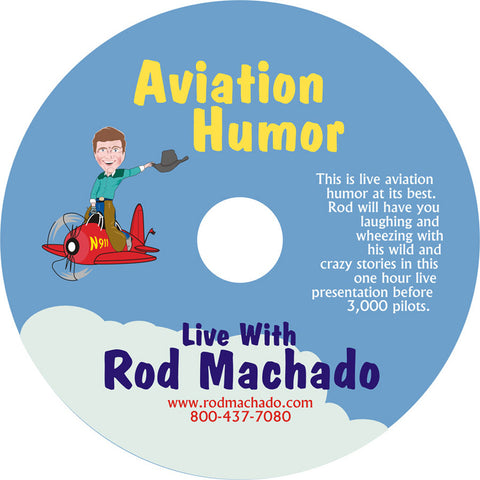 Video-Rod Machado's Aviation Humor (DVD or Download)