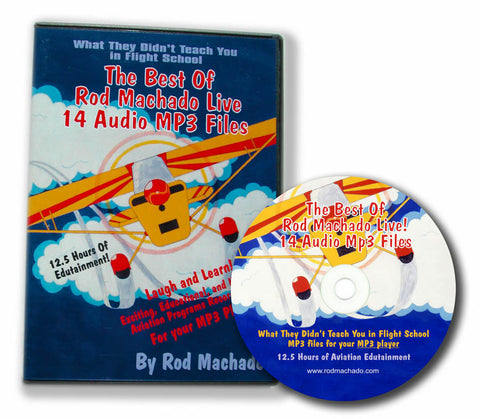 Rod Machado Live - 14 Audio Lectures (MP3s on DVD or Download)