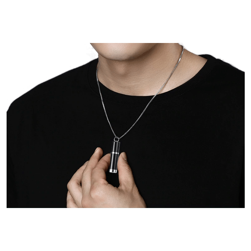 Collier Espion Micro Enregistreur Vocal Porté