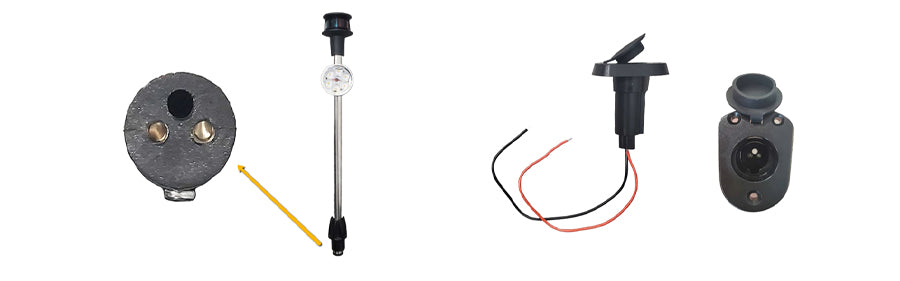 This boat light is flexible for a variety of mounting scenarios.