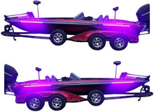Load image into Gallery viewer, High Output Ultra Violet UV Black Light LED Light Strip for Bass Boats & Night Fishing
