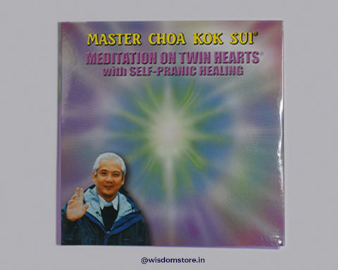 Meditaion on Twin Heart  With Self Healing CD ENGLISH