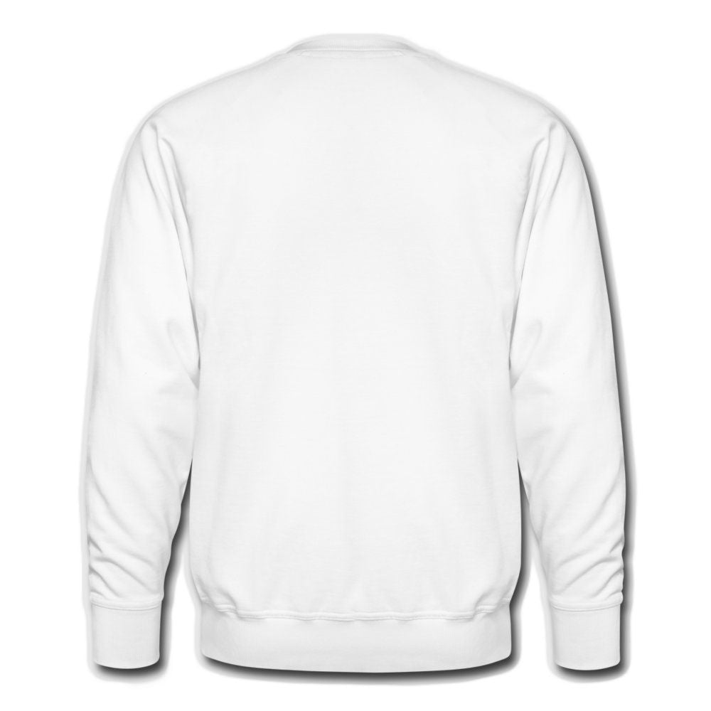 THREAD CAPTAIN CH00BOOM! check the bylaws White Men's French Terry Sweatshirt
