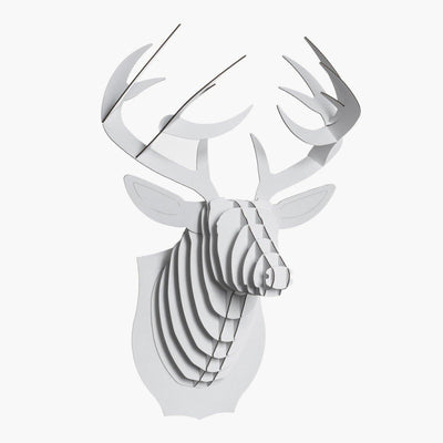 Cardboard Deer Wall Decor - BLU KAT