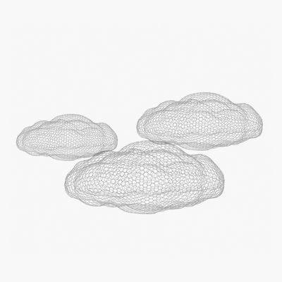 Cloud Sculpture - 3 Sizes - BLU KAT