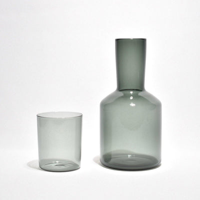 Carafe & Glass Set - Smoke - BLU KAT