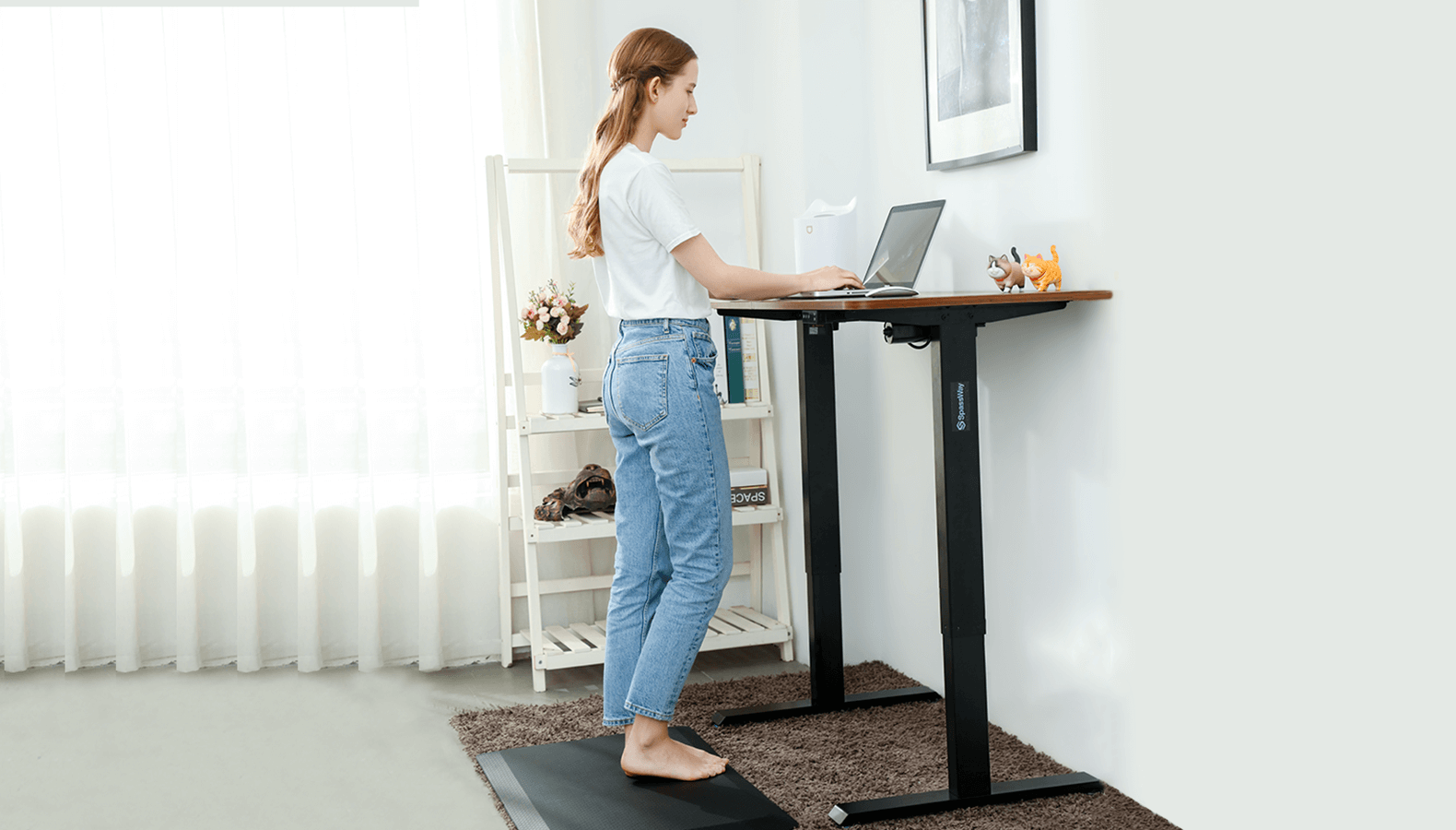 height adjustable desk for home office